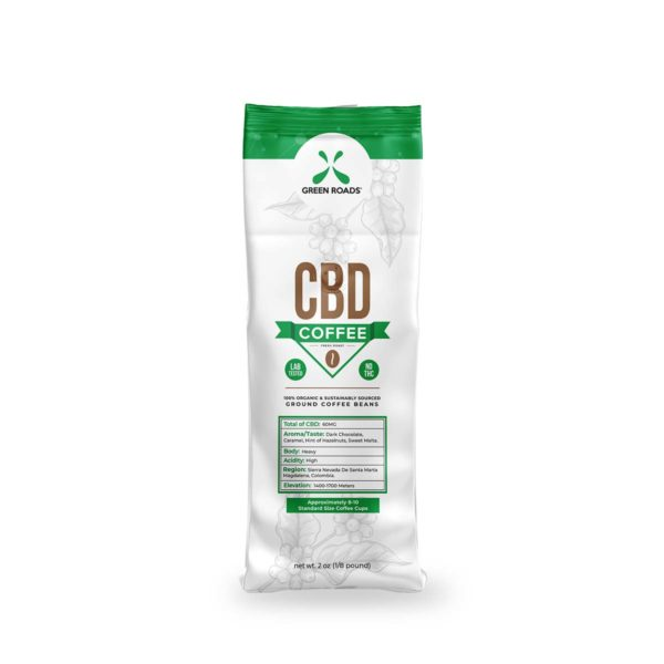 Green Roads CBD Coffee 2oz