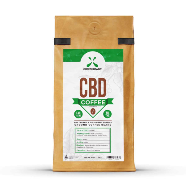 Green Roads CBD Coffee 8oz