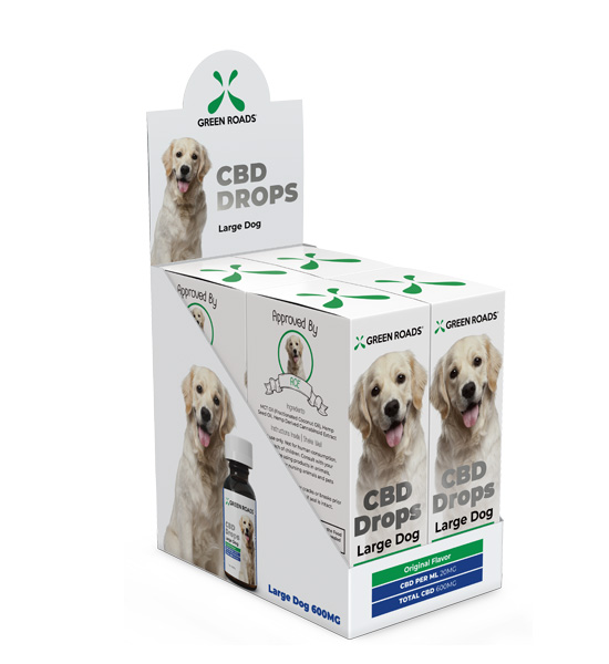 Green Roads CBD Drops Large Dog 600mg