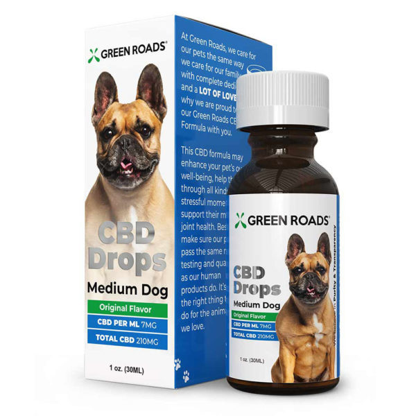 Green Roads CBD Drops Medium Dog 210mg