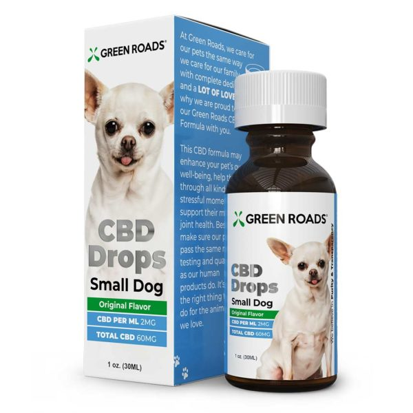 Green Roads CBD Drops Small Dog 60mg