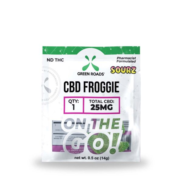 Green Roads CBD Froggie Sourz 25mg