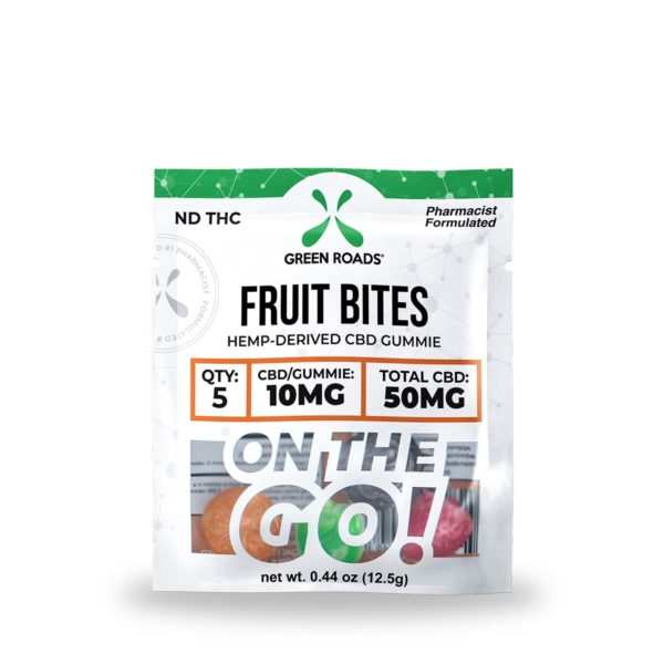 Green Roads CBD Fruit Bites 50mg