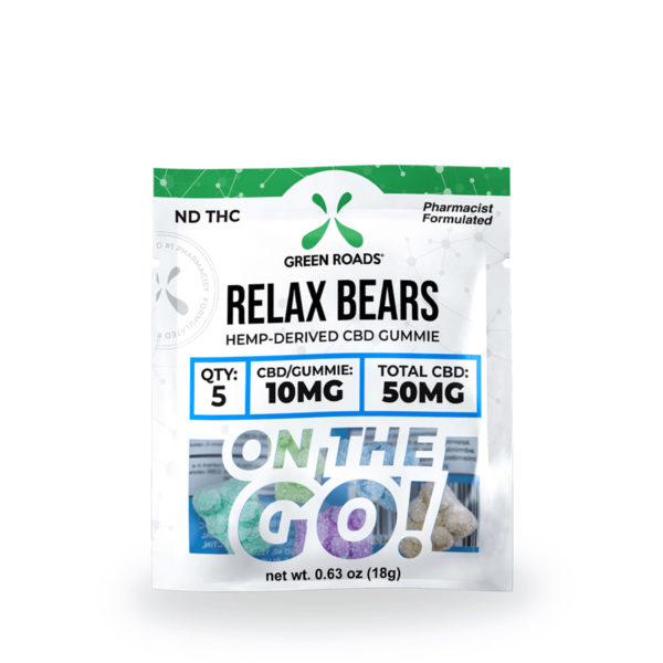 Green Roads CBD Relax Bears OTG 50mg