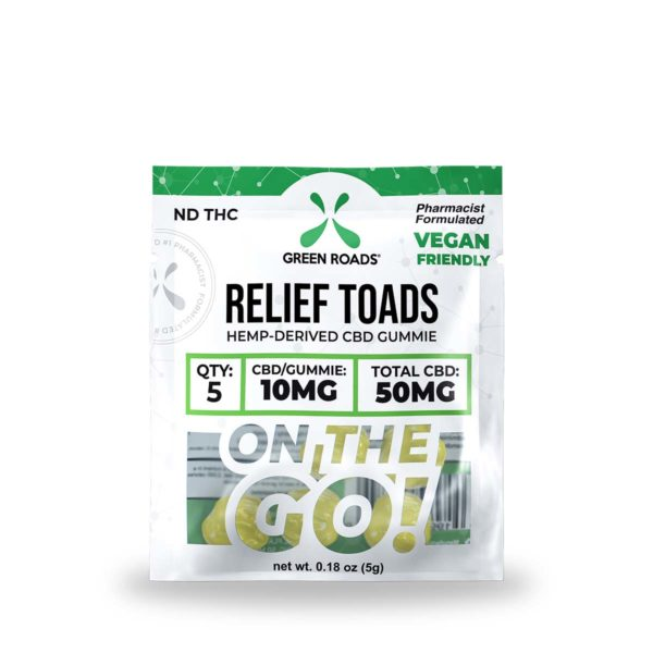 Green Roads CBD Relief Toads OTG 50mg