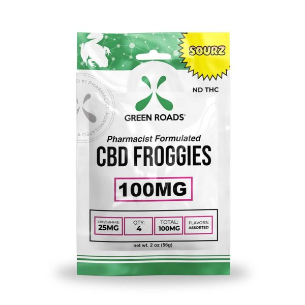 Green Roads CBD Sourz Froggies 100mg