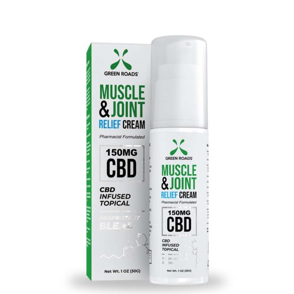 Green Roads Soothing CBD Muscle & Joint Relief Cream 150mg