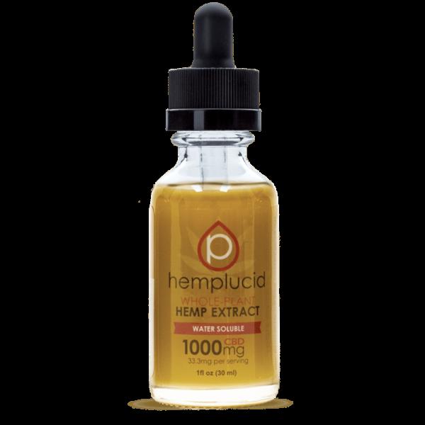 Hemplucid 1000mg tincture water soluble