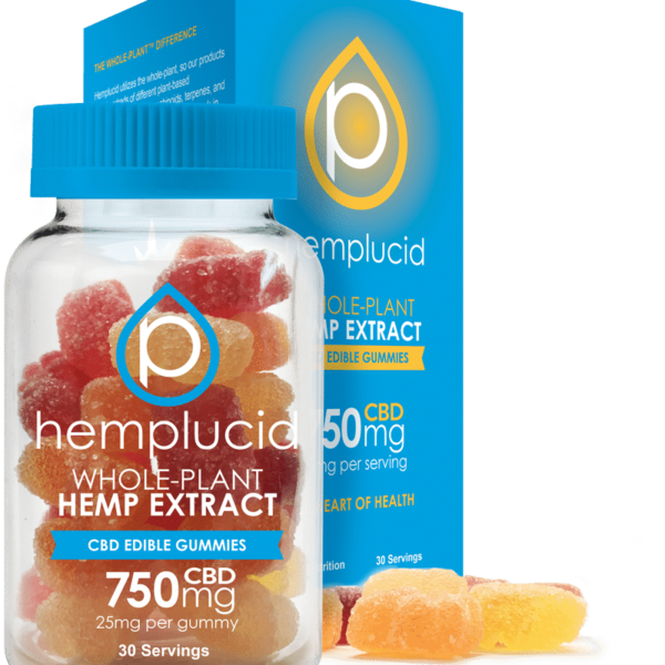 Hemplucid Edible 750mg gummies