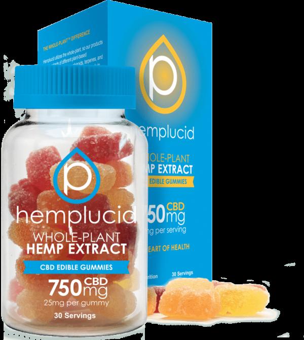 Hemplucid Edible 750mg gummies