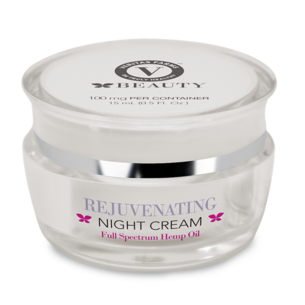 Veritas Farms CBD Rejuvenating Night Cream
