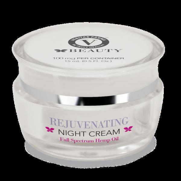 Veritas Farms CBD Rejuvenating Night Cream