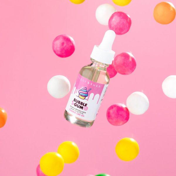 CBD Oil Bubble Gum 1000mg