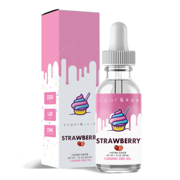 CBD Oil Strawberry 1000mg