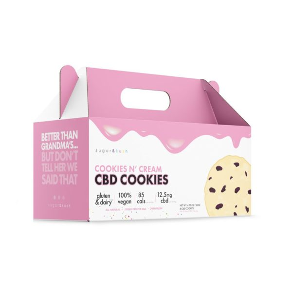 Cookies and Cream CBD 100mg