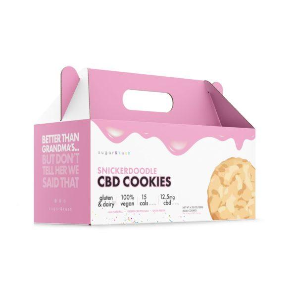 Snickerdoodle CBD Cookies