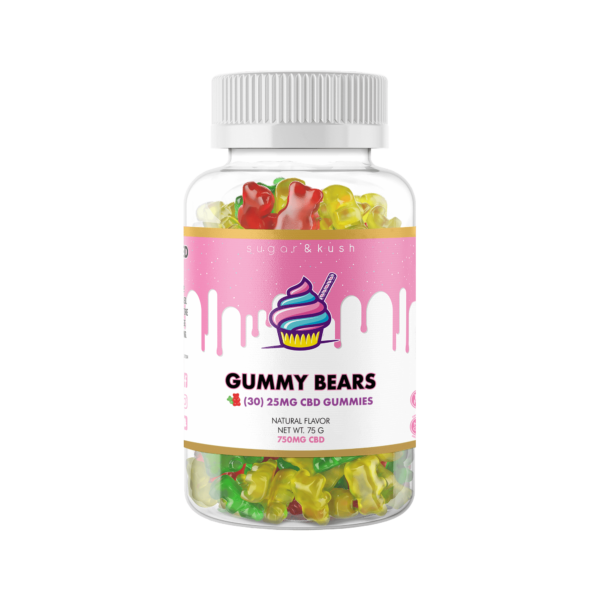 sugar & kush CBD Gummies 750mg