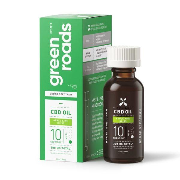Greenroads-Apple Kiwi-Oil-300mg---