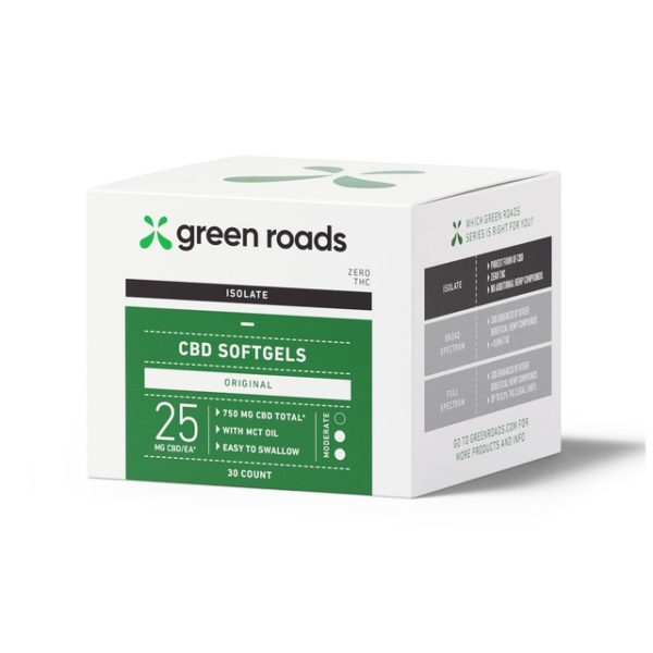 Greenroads-CBD-Isolate-Everyday-Support-Softgels-750mg