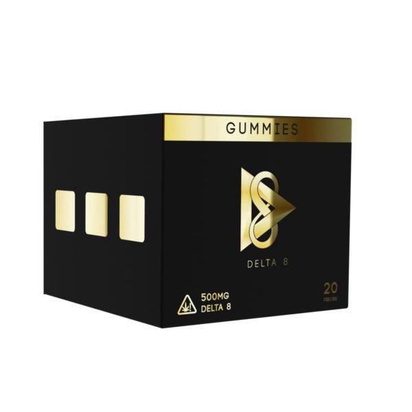 D8 Delta 8 Caviar x Kush Gummies box 500mg