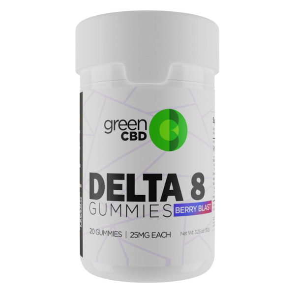 Green CBD Delta 8 berry blast 500mg