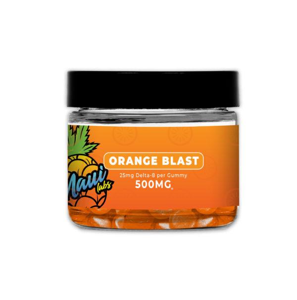 Maui Labs Delta 8 Gummies Orange Blast