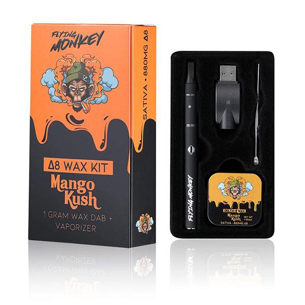 flying-monkey-delta-8-wax-dab-kit-mango-kush